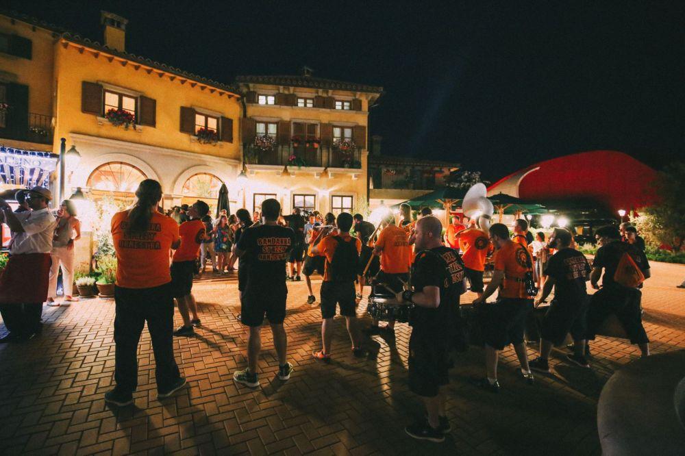 Midnight Partying At Ferrari Land... In PortAventura, Spain (50)