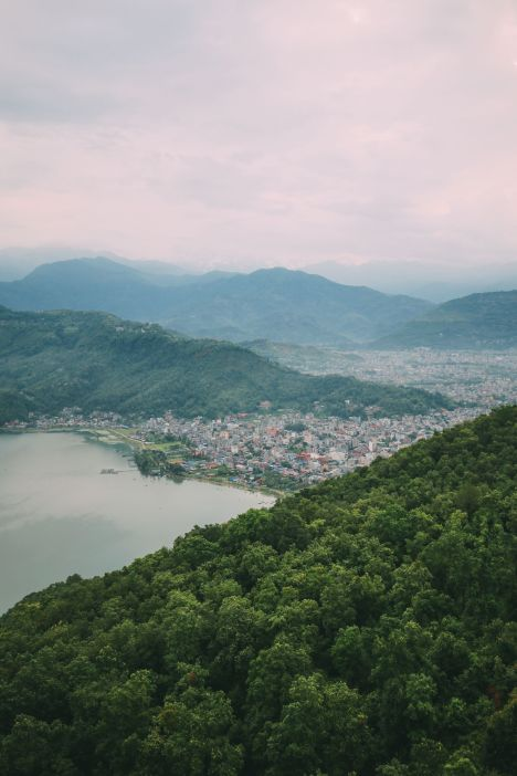 The Sunrise Over The Himalayas… In Pokhara, Nepal (14)