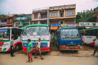 The Long Road From Pokhara To Kathmandu, Nepal (4)