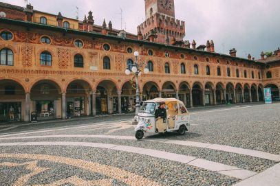 Exploring The Italian Region Of Lombardy – On A Rickshaw! (19)