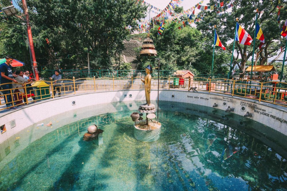 Exploring Swayambhunath Stupa - The Monkey Temple In Kathmandu, Nepal (2)