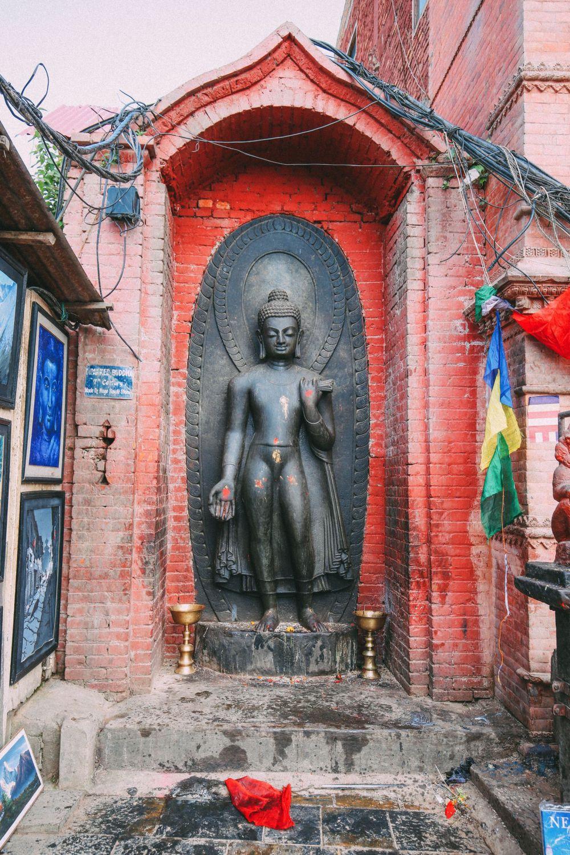 Exploring Swayambhunath Stupa - The Monkey Temple In Kathmandu, Nepal (11)