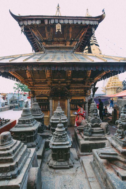 Exploring Swayambhunath Stupa - The Monkey Temple In Kathmandu, Nepal (13)