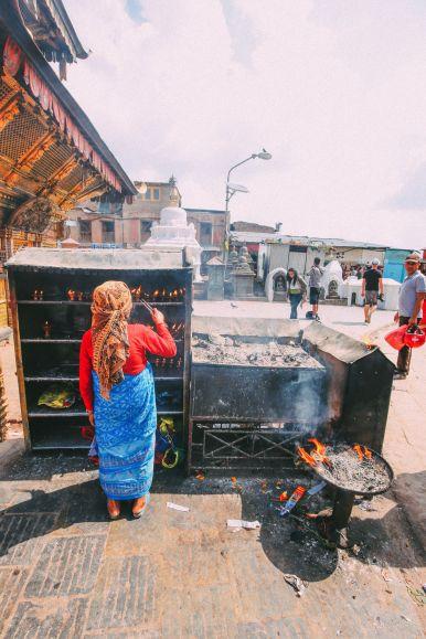Exploring Swayambhunath Stupa - The Monkey Temple In Kathmandu, Nepal (16)