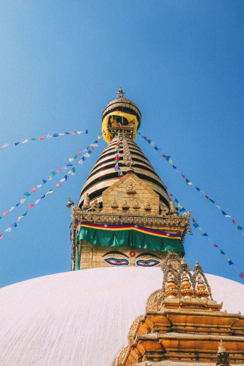 Exploring Swayambhunath Stupa - The Monkey Temple In Kathmandu, Nepal (21)