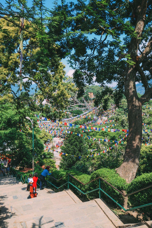Exploring Swayambhunath Stupa - The Monkey Temple In Kathmandu, Nepal (42)