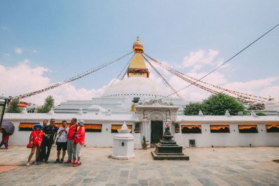 The UNESCO World Heritage Site Of Boudhanath Stupa In Kathmandu, Nepal (1)