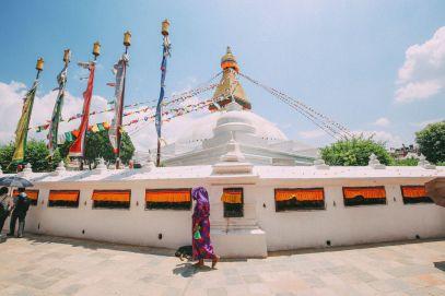 The UNESCO World Heritage Site Of Boudhanath Stupa In Kathmandu, Nepal (3)