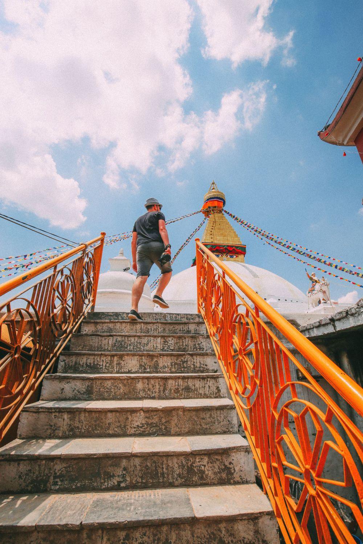 The UNESCO World Heritage Site Of Boudhanath Stupa In Kathmandu, Nepal (8)