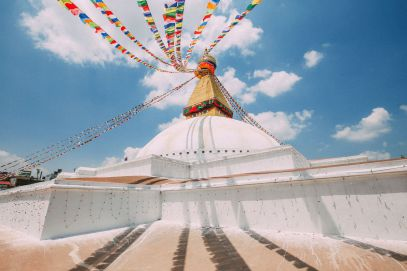 The UNESCO World Heritage Site Of Boudhanath Stupa In Kathmandu, Nepal (17)