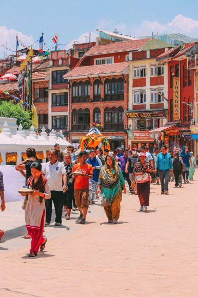 The UNESCO World Heritage Site Of Boudhanath Stupa In Kathmandu, Nepal (35)