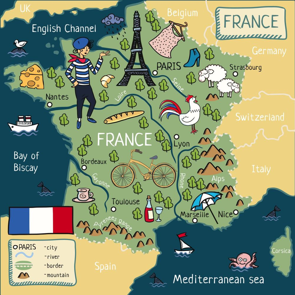 Places To See And Visit In France Europe