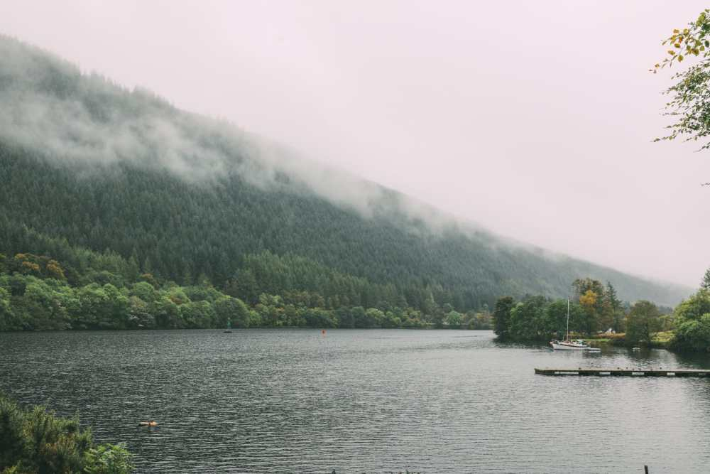 Whisky Drinking, Loch Rowing And Picnicking In The Scottish Highlands (13)