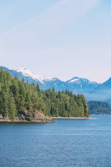 Driving The Sunshine Coast Of British Columbia Canada (6)