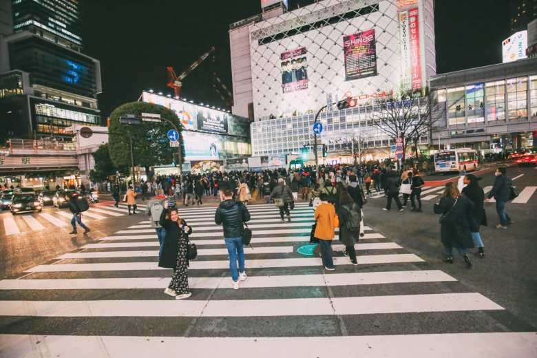 The Famous Shibuya Crossing And Dancing Robots... In Tokyo, Japan (20)