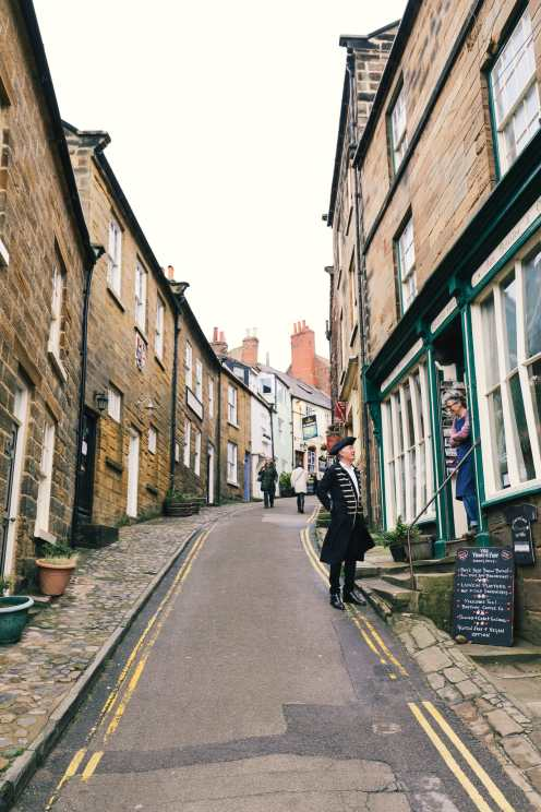 Exploring Ancient England - Robin Hood's Bay And Whitby Abbey (12)