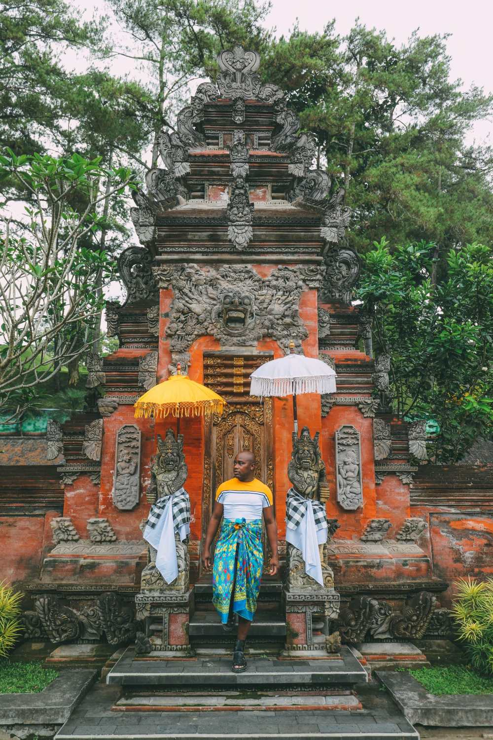Finding A Secret Waterfall in Bali, Tirta Empul Temple And Mount Batur Volcano (2)