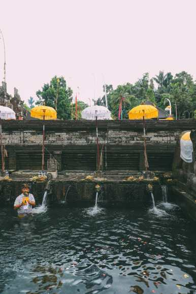 Finding A Secret Waterfall in Bali, Tirta Empul Temple And Mount Batur Volcano (4)