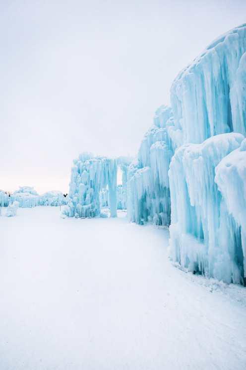 Ice Castle In Alberta, Canada (12)