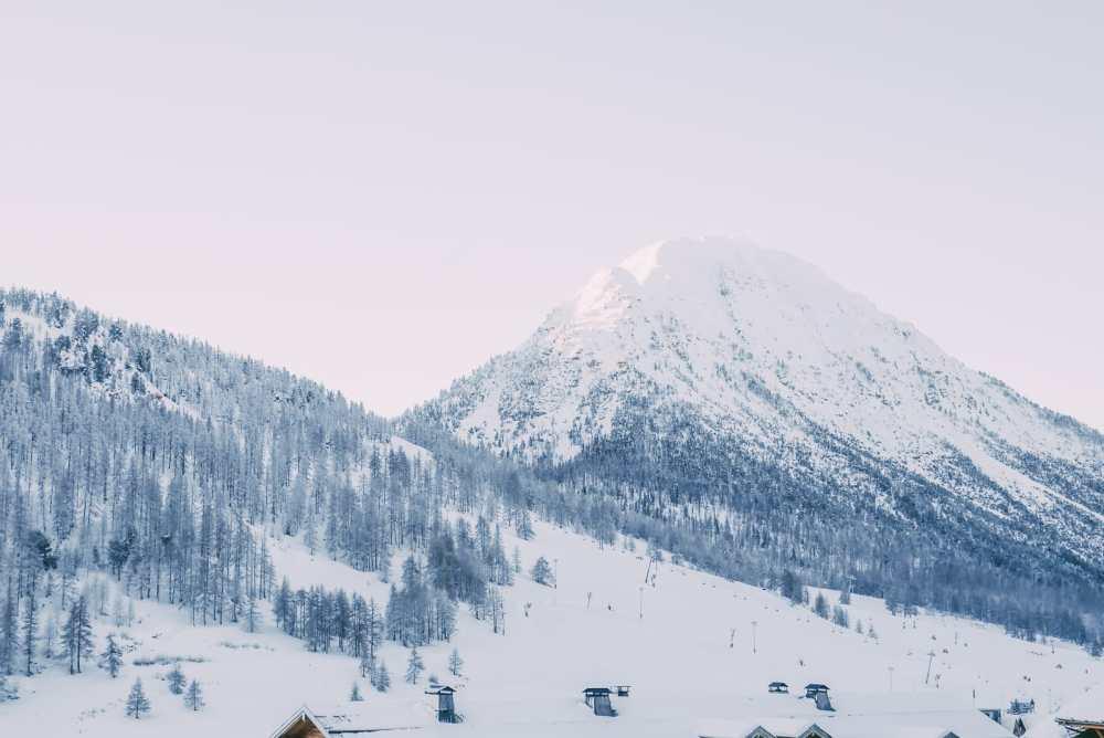 Skiing In Montgenevre, France (1)