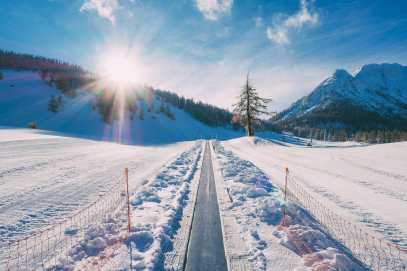 Skiing In Montgenevre, France (2)