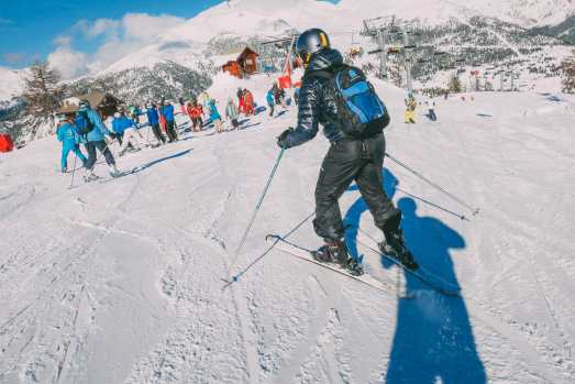Skiing In Montgenevre, France (27)