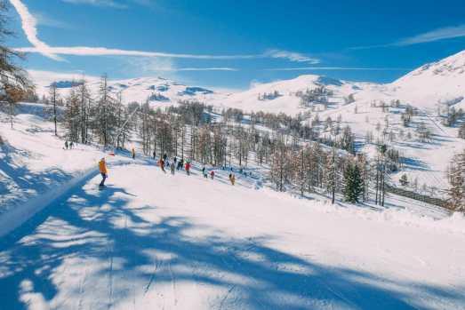 Skiing In Montgenevre, France (31)