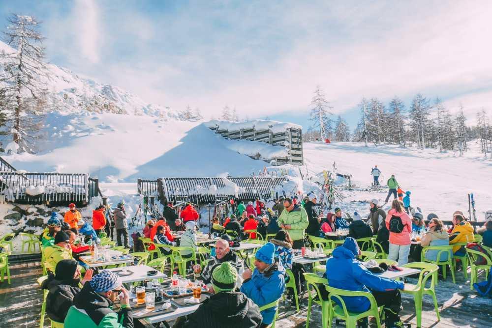 Skiing In Montgenevre, France (38)