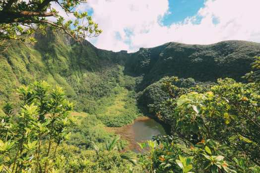 Hiking To The Top Of A Volcano... In the Caribbean! (15)