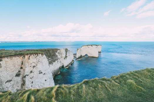 Exploring The Old Harry Rocks Formation On The Jurassic Coast Of England (26)