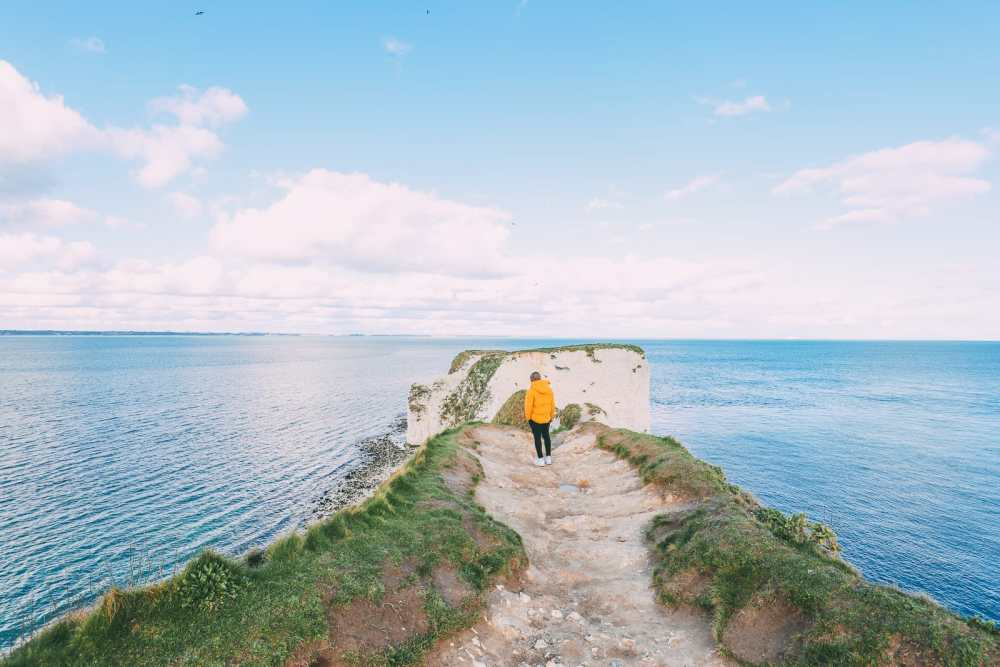 Exploring The Old Harry Rocks Formation On The Jurassic Coast Of England (34)
