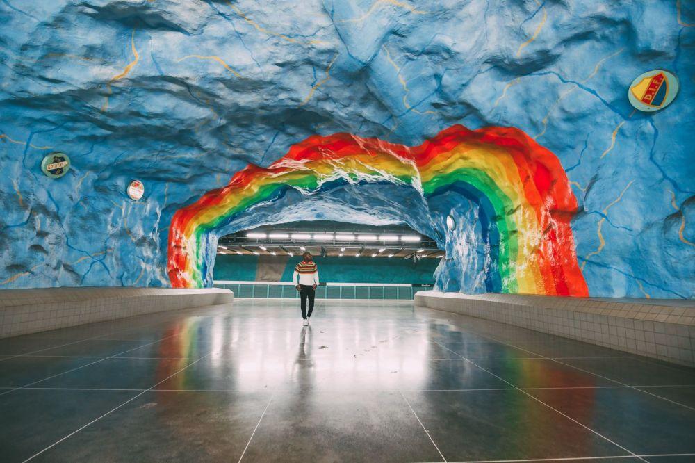 Best Stations Stockholm's Metro Art (20)