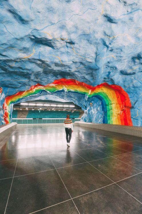 Best Stations Stockholm's Metro Art (1)