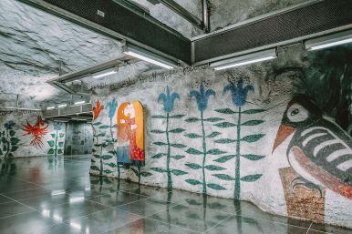 Best Stations Stockholm's Metro Art (17)