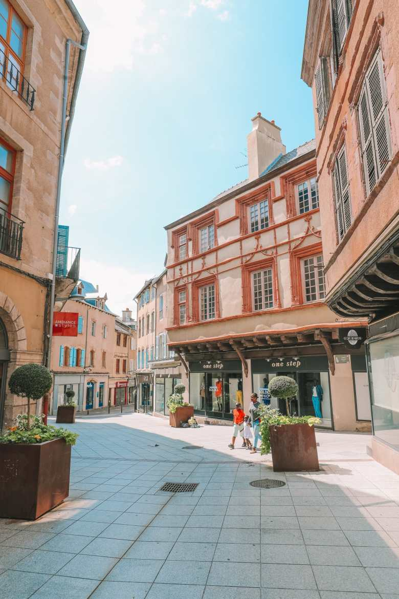 The Pretty Little City Of Rodez In The South Of France (50)
