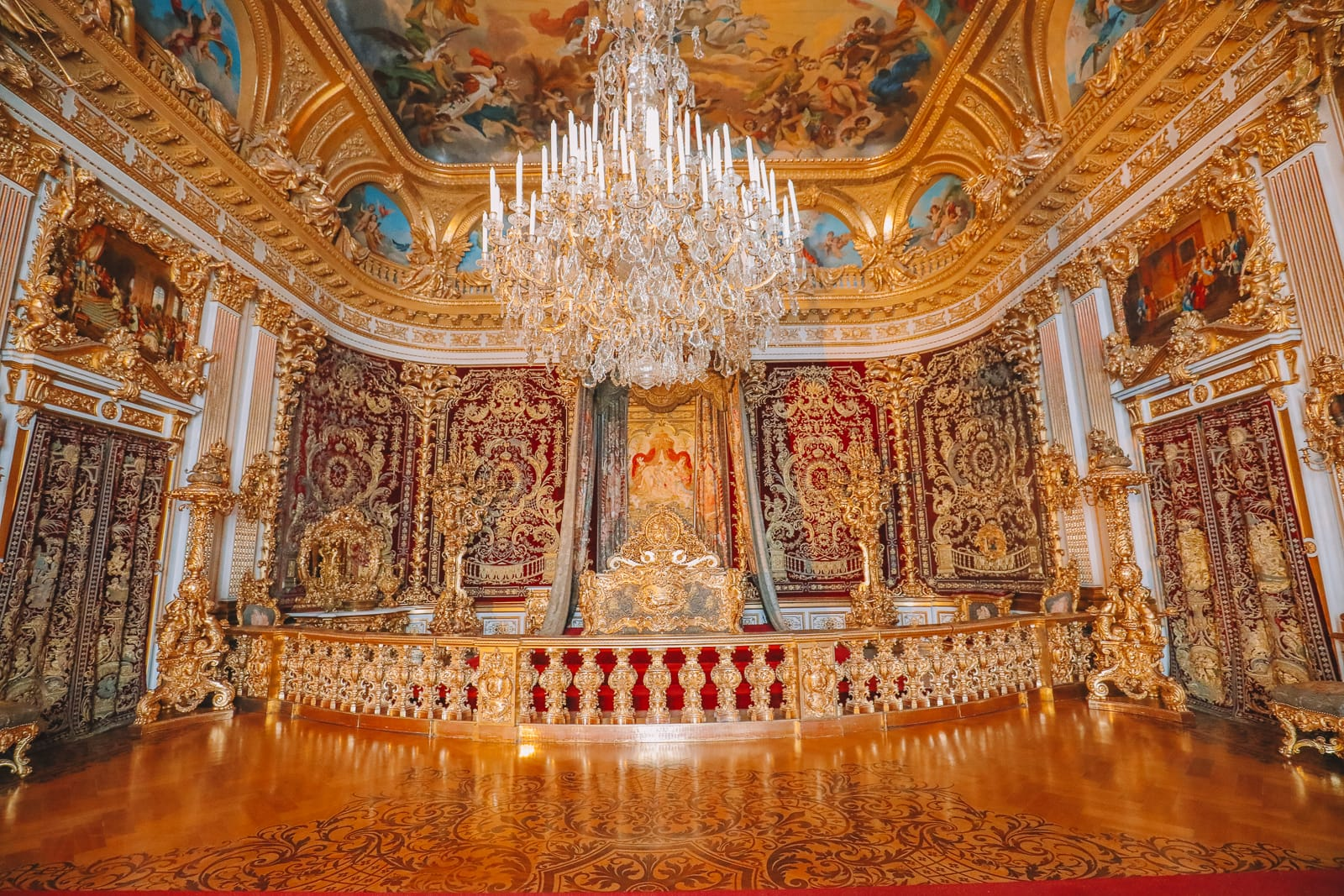 Royal Castle Herrenchiemsee Puzzle 500 Pieces 19 x 14 Made in Europe