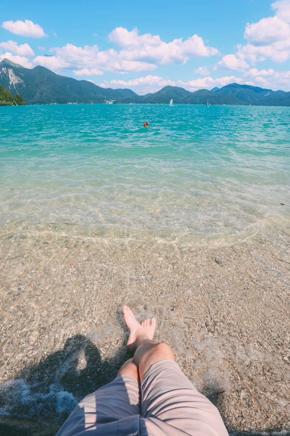 Walchensee - One Of The Most Beautiful Views In The Alps Of Germany (...And It's Got A Beach Too!) (22)