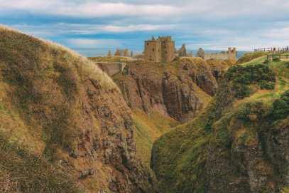 Exploring The Ancient Dunnottar Castle... In Stonehaven, Scotland (5)