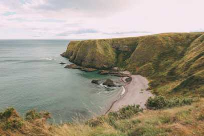 Exploring The Ancient Dunnottar Castle... In Stonehaven, Scotland (11)
