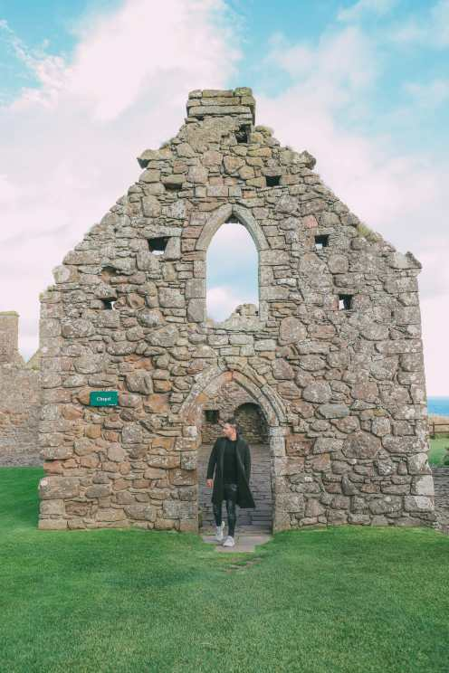 Exploring the old Dunnottar Castle ... in Stonehaven, Scotland (28)