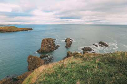 Exploring The Ancient Dunnottar Castle... In Stonehaven, Scotland (34)