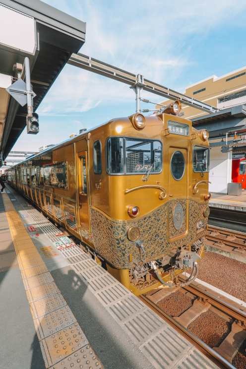 The Aru Ressha Sweet Train, Pretty Little Mamedamachi And A Night In Fukuoka, Japan (6)