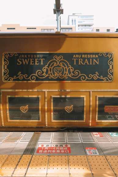 The Aru Ressha Sweet Train, Pretty Little Mamedamachi And A Night In Fukuoka, Japan (7)