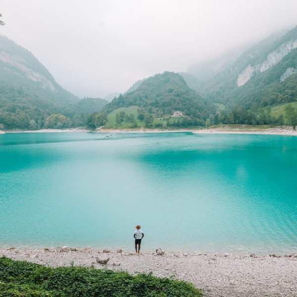 The Beautiful Lago Di Tenno, Cascate Del Varone And Completing A Via Ferrata In Lake Garda, Italy (24)