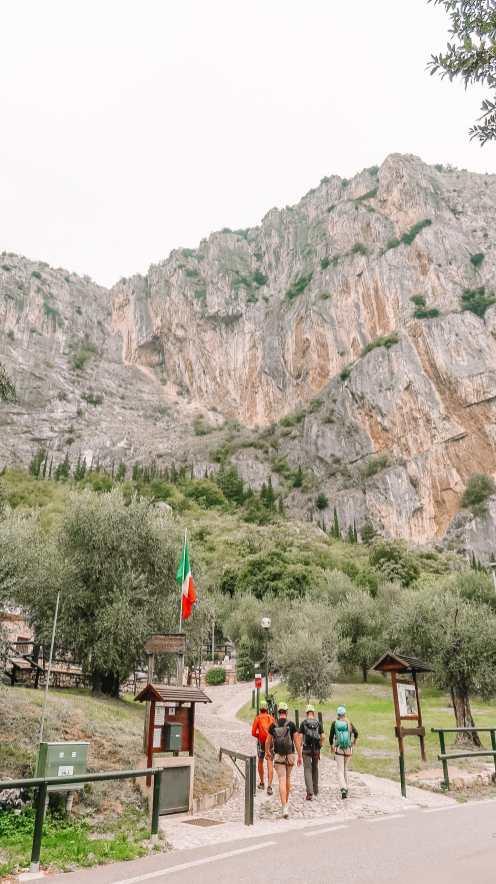 The Beautiful Lago Di Tenno, Cascate Del Varone And Completing A Via Ferrata In Lake Garda, Italy (46)