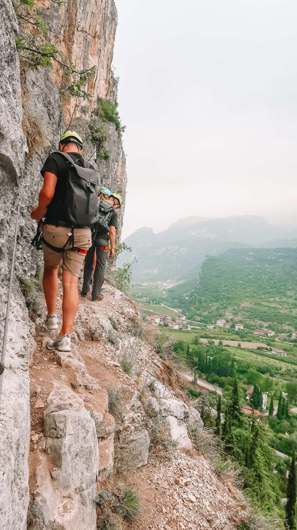 The Beautiful Lago Di Tenno, Cascate Del Varone And Completing A Via Ferrata In Lake Garda, Italy (49)