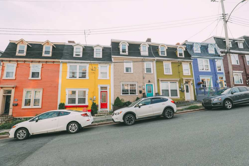 The Colourful Houses Of St John's, Newfoundland (3)