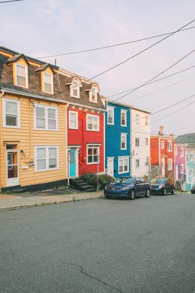 The Colourful Houses Of St John's, Newfoundland (4)