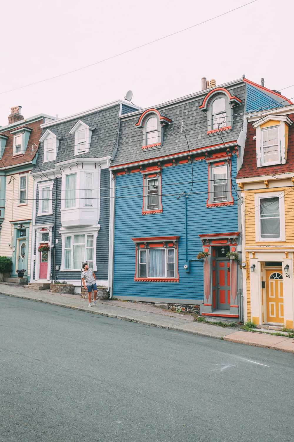 The Colourful Houses Of St John's, Newfoundland (10)