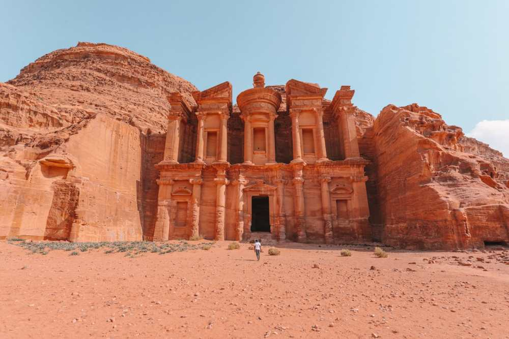 Finding The Monastery Up In The Mountains In Petra, Jordan (19)
